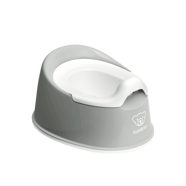 BabyBjorn Smart Potty - Grey and White