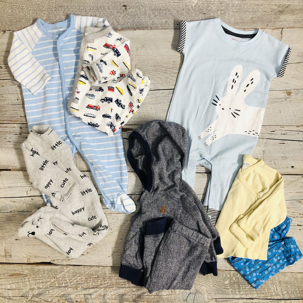 "Gently Used Baby Bundle - SPRING ""boy"""