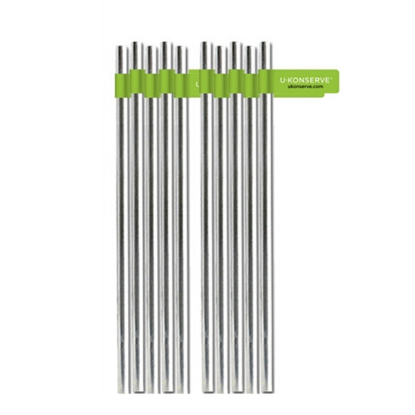 UKonserve Stainless Steel Straws- Individual