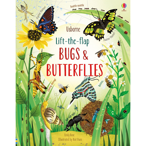 Usborne Lift The Flap Bugs & Butterflies