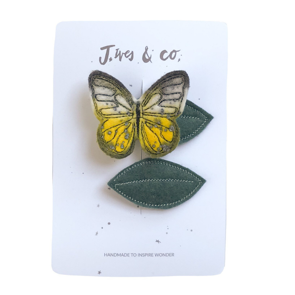 Baby Jives Hair Clips- Butterfly