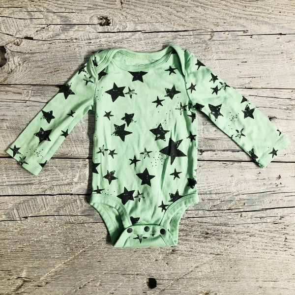 Gently Used Long Sleeve Bodysuit, 3-6 months