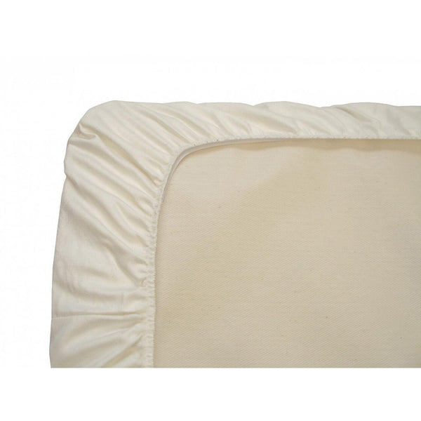 Naturepedic Organic Cotton Fitted Flannel Crib Pad