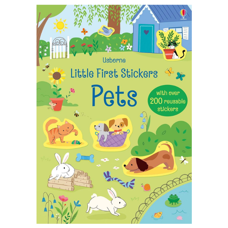 Usborne Little Stickers Pets