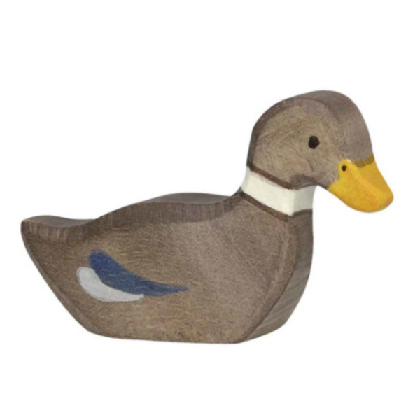Holztiger Duck (swimming)