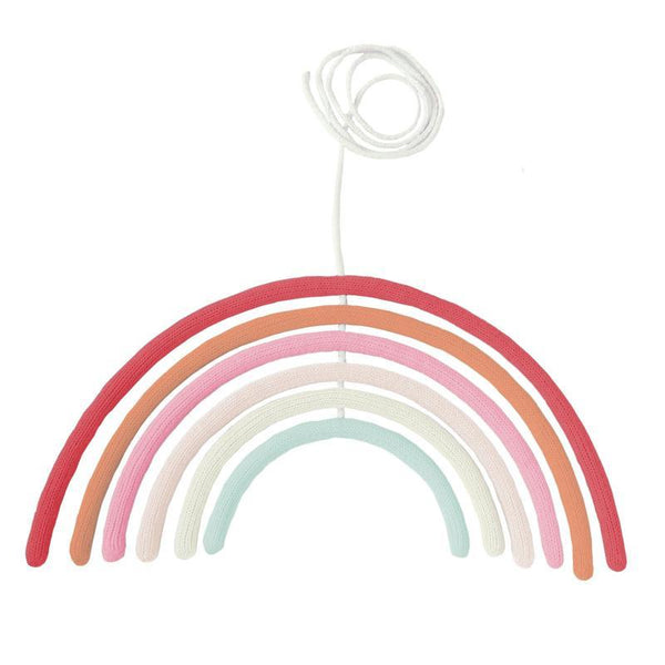 Bla Bla Rainbow Wall Hanging- Cherry Blossom