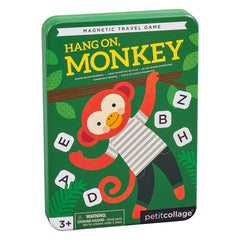 Petit Collage Magnetic Travel Game Hang On, Monkey