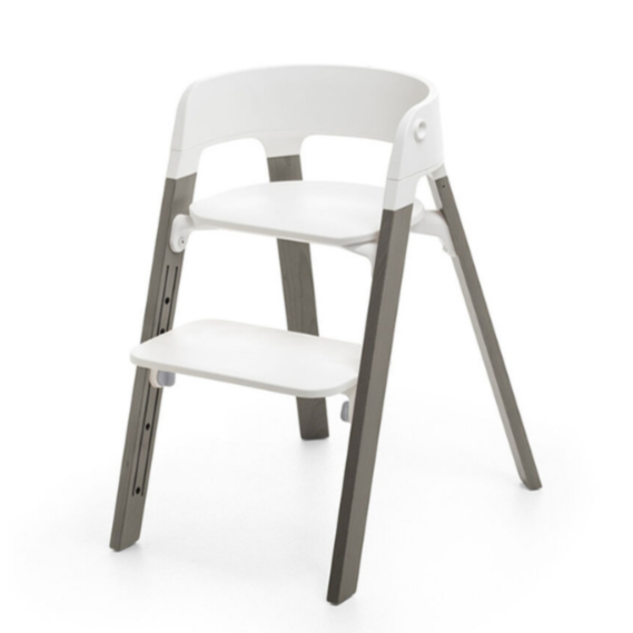 Stokke Steps Chair Hazy Grey