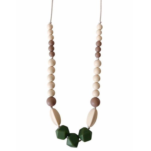 Chewable Charm Teething Necklace Kimberly