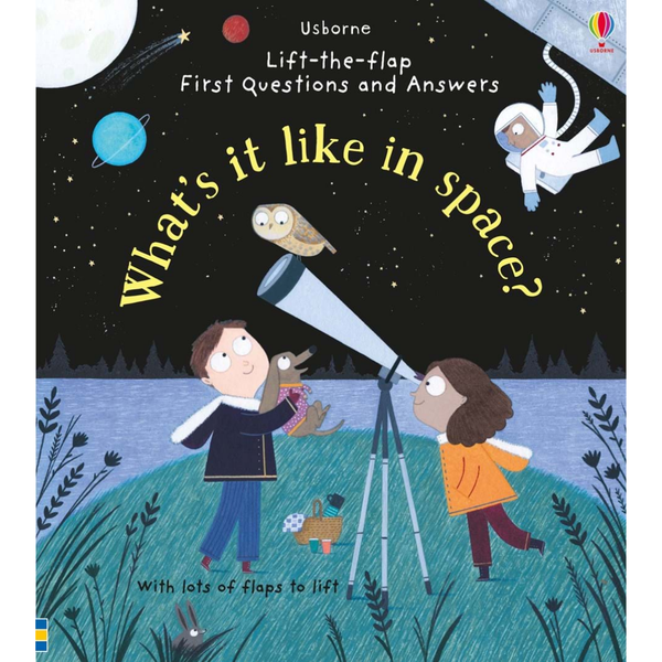 Usborne Look Inside What's it Like in Space