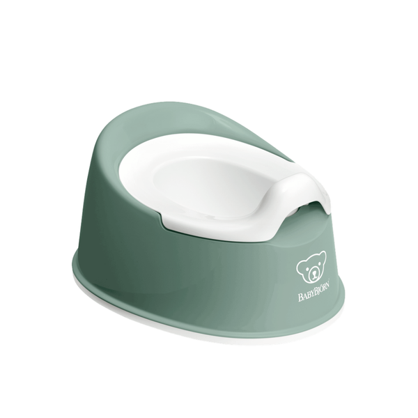 BabyBjorn Smart Potty - Deep Green and White