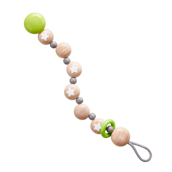 HABA Pacifier Chain- Star Flight