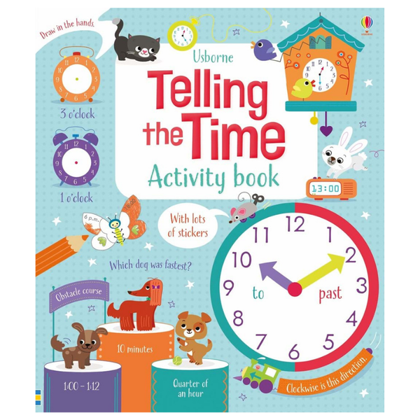 Usborne Math Activity Book Telling the Time
