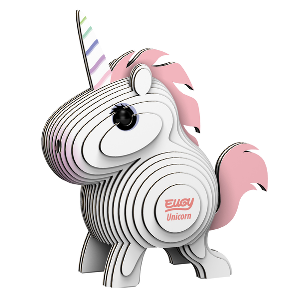 Eugy 3D Model Kit - Unicorn
