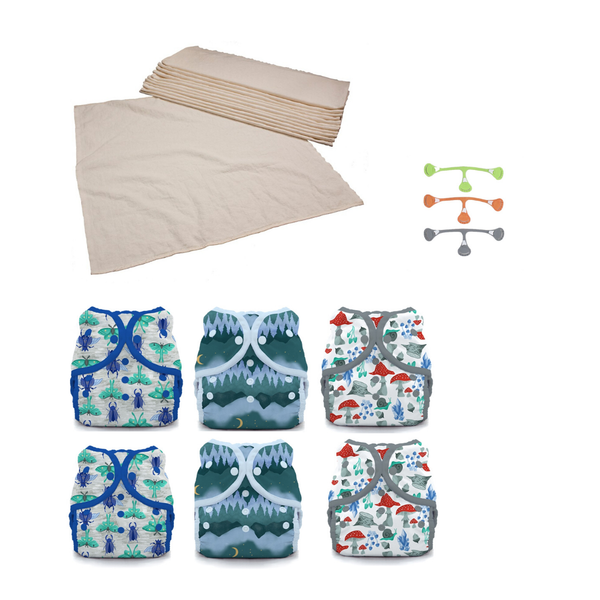 Flats Diaper Package
