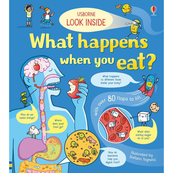 Usborne Look Inside What happens when you eat?