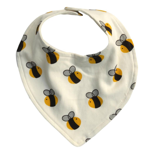 Cat & Dogma Organic Cotton Bib - Bees