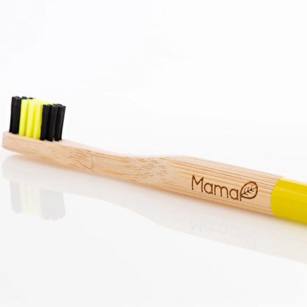 Mama P Save The Bees Bamboo Toothbrush