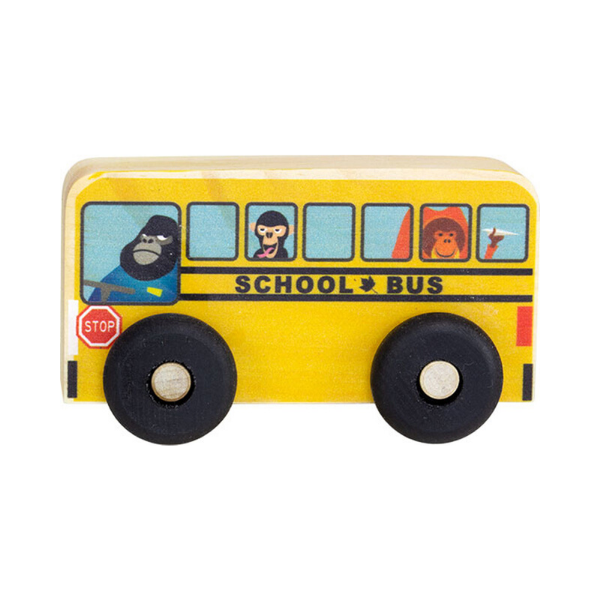 Maple Landmark Scoots School Bus