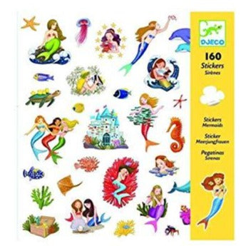 Djeco Stickers Mermaids