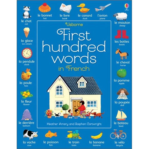 Usborne First Hundred Words in French