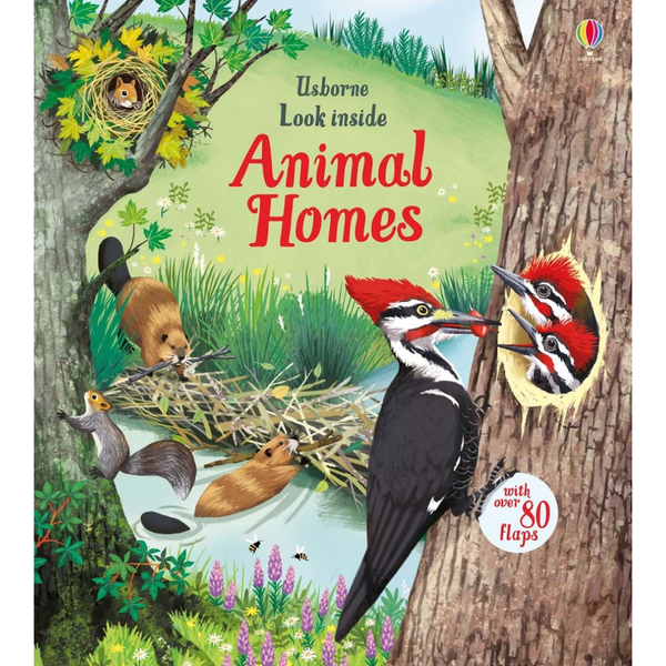 Usborne Look Inside Animal Homes