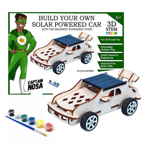 Teni & Tayo Build Your Own Solar Car Captain Nosa