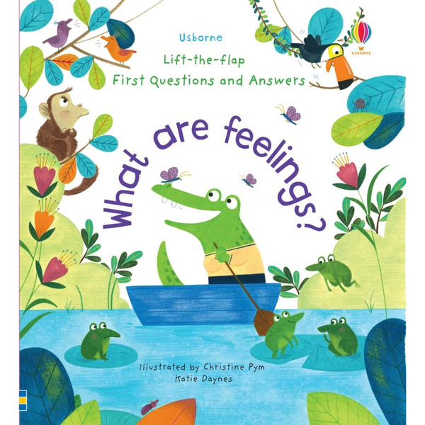Usborne Flap Book What are Feelings?