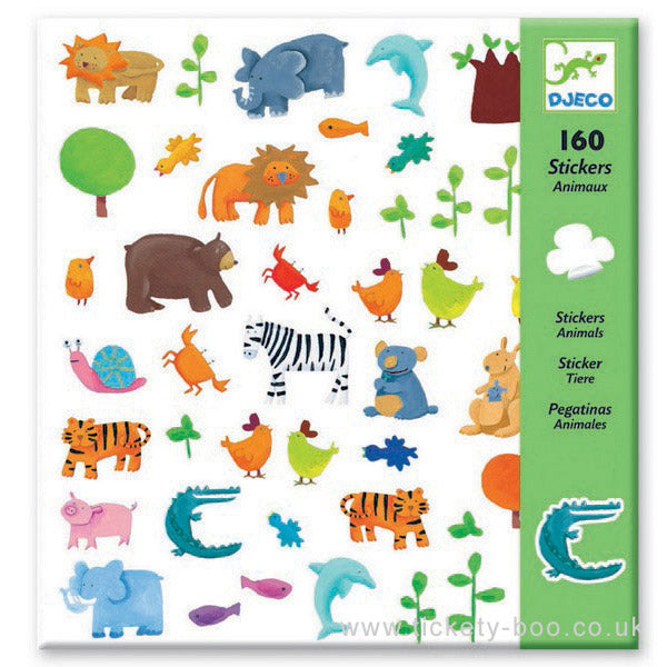Djeco Stickers Animals