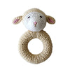Cheengoo Ring Rattle Lamb