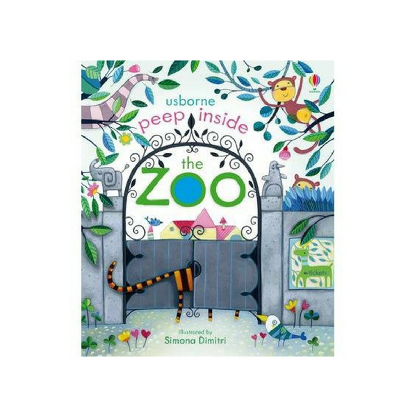 Usborne Peek Inside Zoo