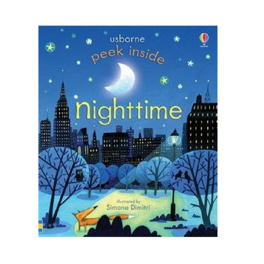 Usborne Peek Inside Nighttime