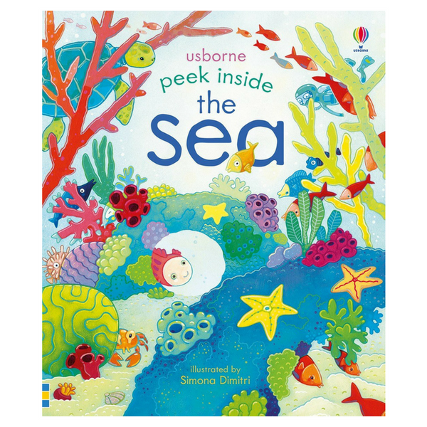 Usborne Peek Inside The Sea