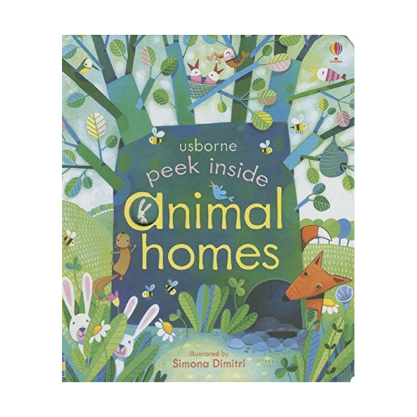 Usborne Peek Inside Animal Homes