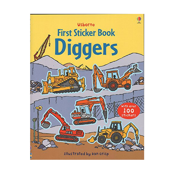 Usborne First Sticker Diggers