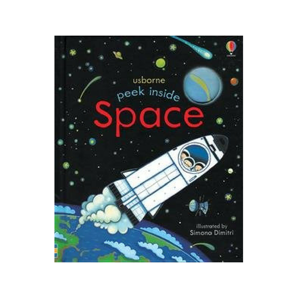 Usborne Peek Inside Space