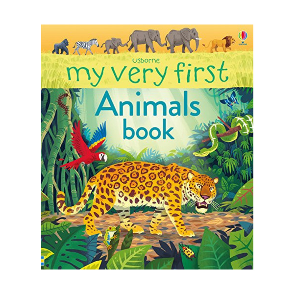 Usborne My Very First Animals Book