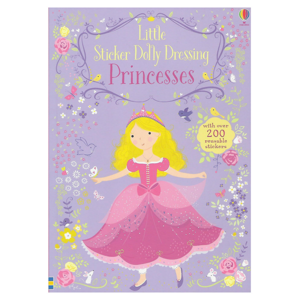 Usborne Little Sticker Dolly Dressing Princesses