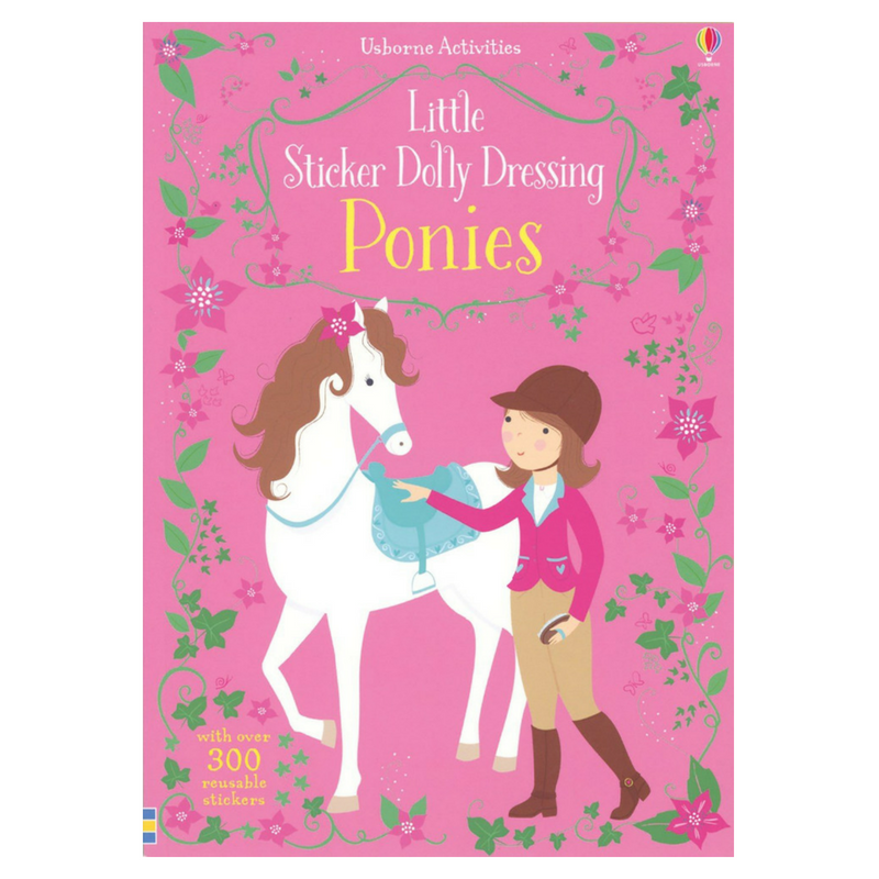 Usborne Little Sticker Dolly Dressings Ponies