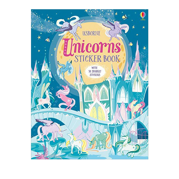 Usborne Unicorn Sticker Book