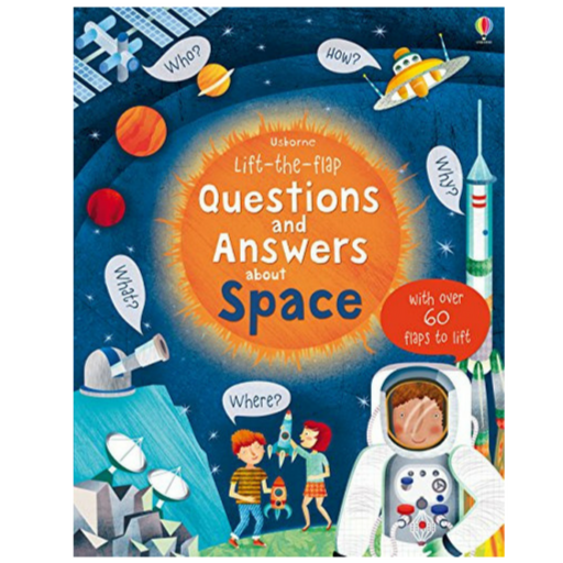 Usborne Q and A Flap Book about Space