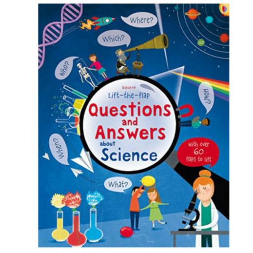 Usborne Q and A Flap Book about Science