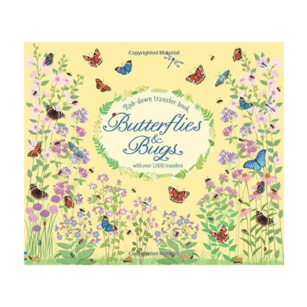 Usborne Butterflies and Bugs Transfer Book
