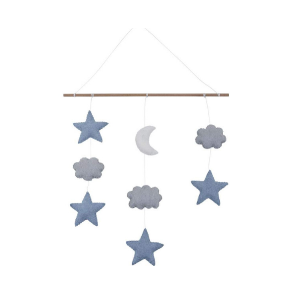Pashom Star & Moon Wall Hanging