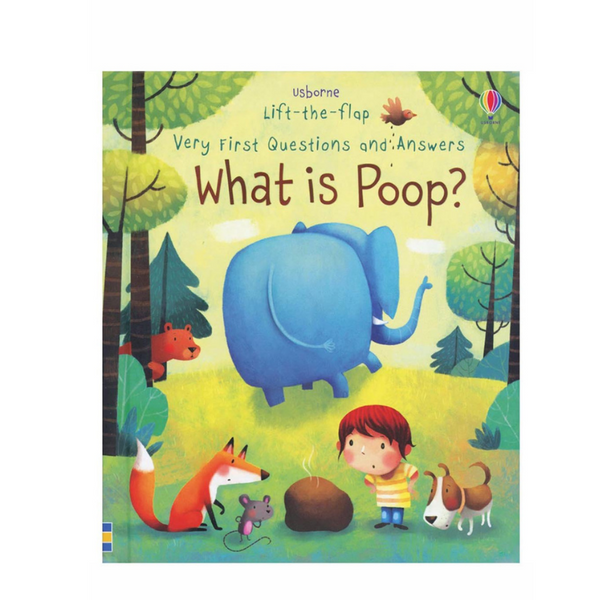 Usborne What is Poop? Flap Book