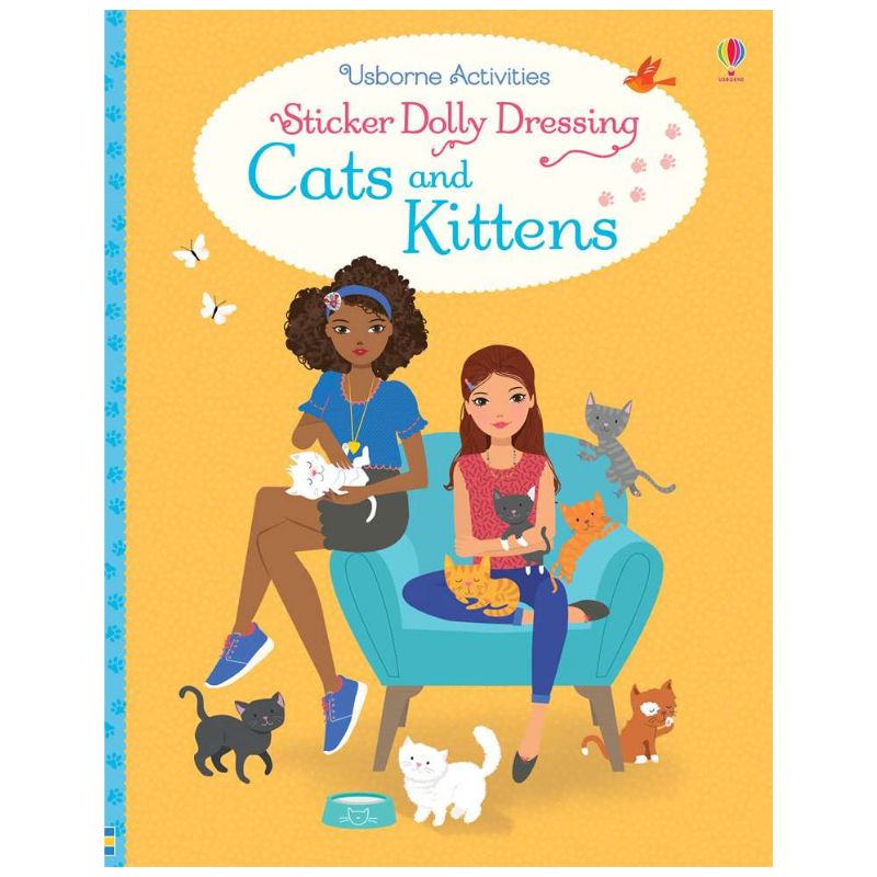 Usborne Dolly Dressing Cats and Kittens