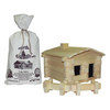 Roy Toy Log Cabin Building Set 70 Piece