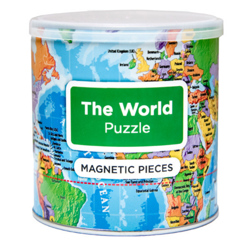 GeoToys Magnetic Puzzle - The World
