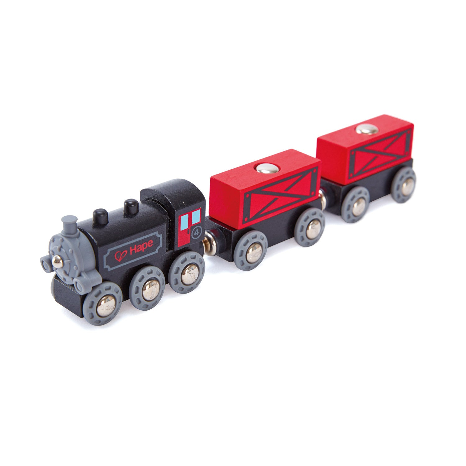Hape Trains -Steam-Era Freight Train