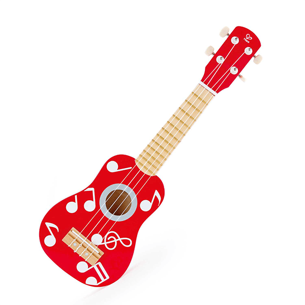 Hape Instruments- Red Ukulele